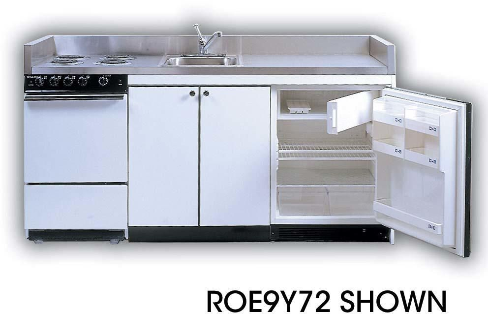 Roe9y87 87 Full Feature Kitchenettes Compact Kitchen With