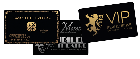 Our 30 mil black pvc plastic cards are the same size and thickness our 30 mil black pvc plastic cards are the same size and thickness as a credit card with a gloss finish they can be imprinted with either gold or silver reheart Choice Image