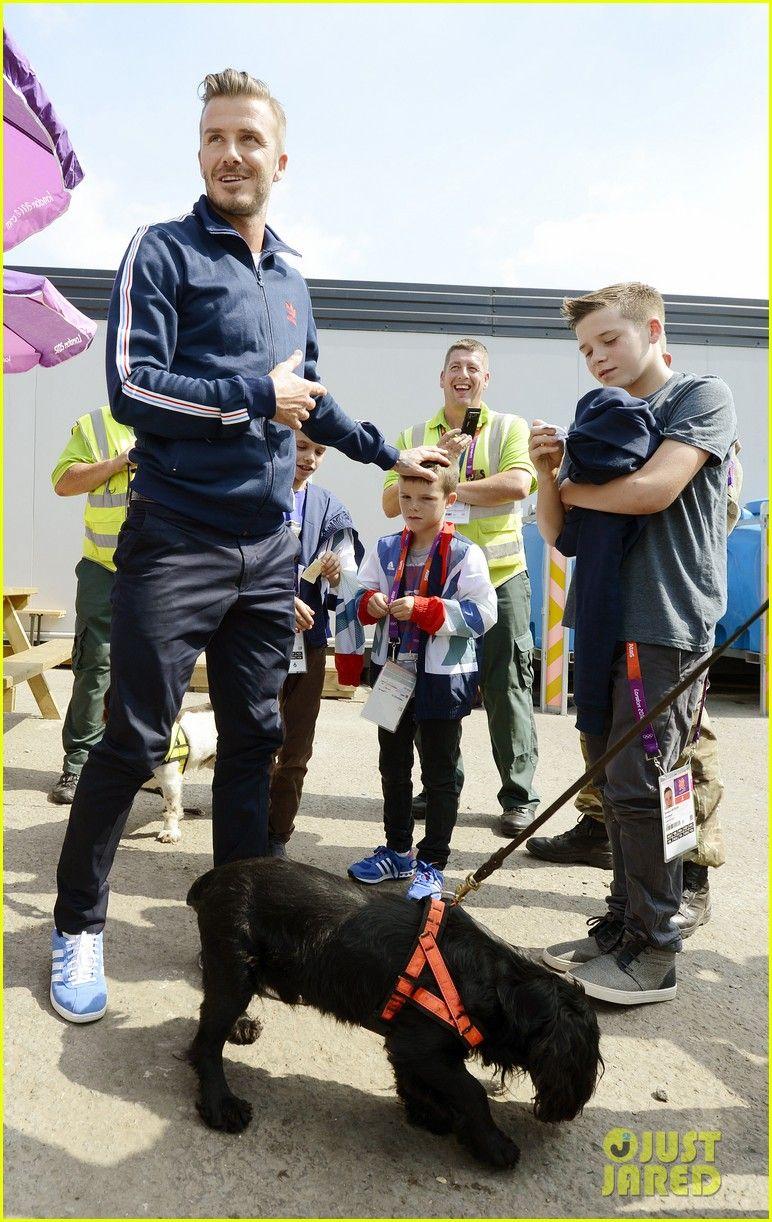 David Beckham Boys Meet Greet Olympic Guards 10 David Beckham And