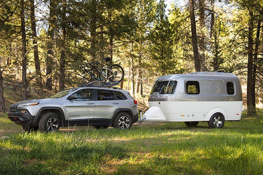 Nest Caravan delivers a monocoquebuilt glamping adventure