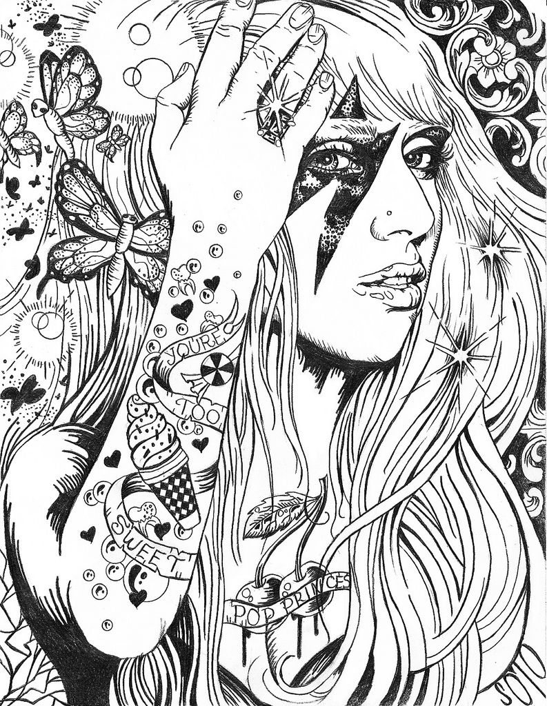 Pin On Lady Gaga Art