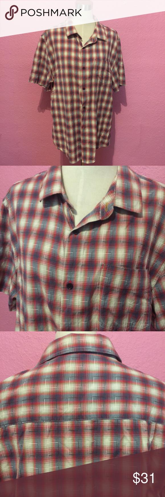 Casual pink dress shirt  Menus casual dress shirt Horny Toad shirt