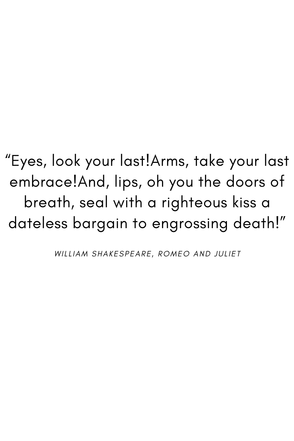 Romeo and juliet essay quotes