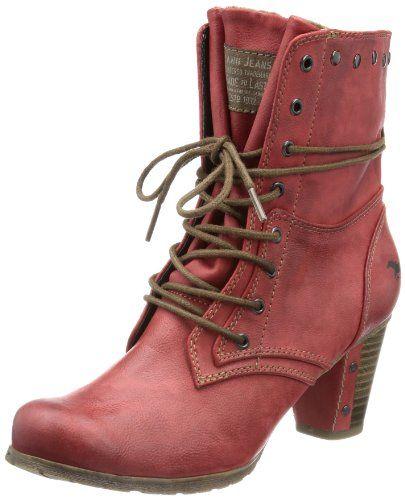 1157-503, Bottes Classiques Femme, Rouge (5 Rot), 37 EUMustang