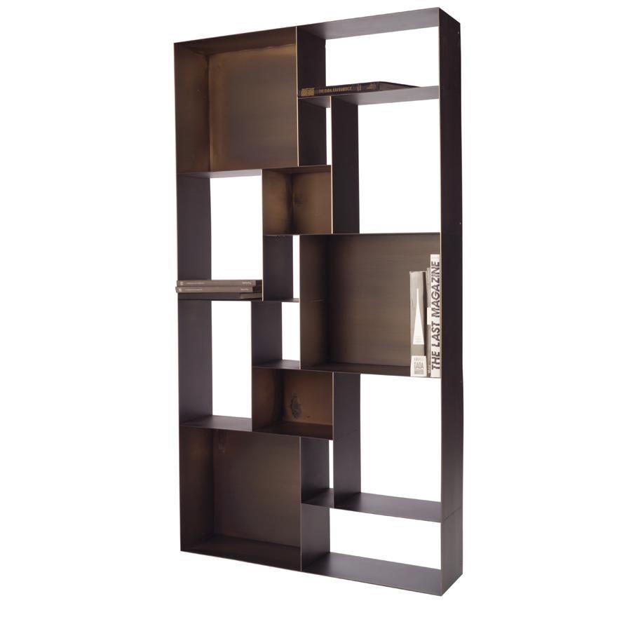 Striking Metal Shelving Design To Increase Your Storage Space: Cabinet Furniture, Design, Furniture Design