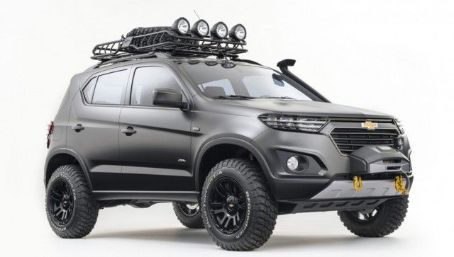 Chevy Niva Concept In A Venture With Russian Based Lada Gm Has Produced This Crossover Utility Vehicle That Comes Equipped With Chevrolet Trax Chevrolet Suv