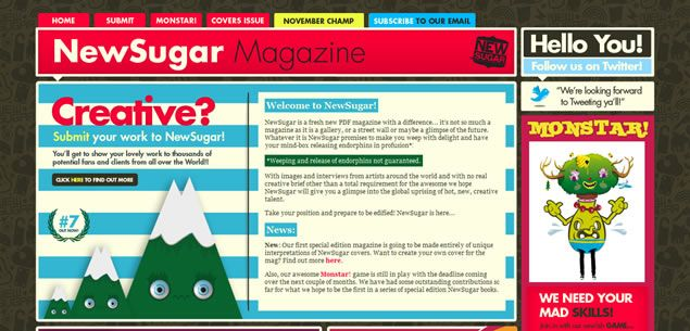 Magazine Web Design Styles