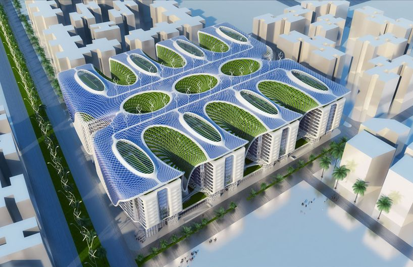 Vincent Callebaut Envisions Green Living At Cairo S Gate