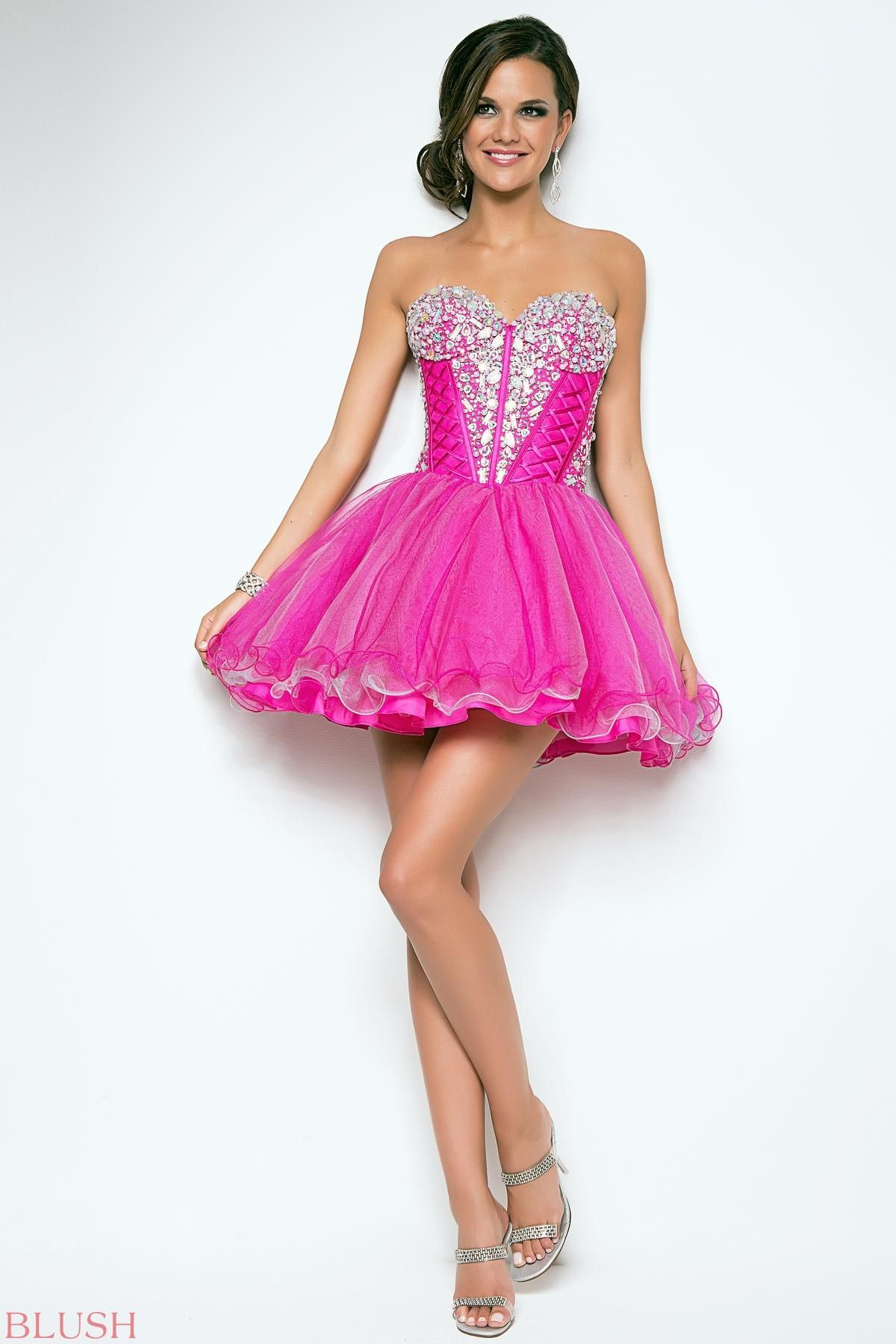 Homecoming dresses by Blush Prom Homecoming Style 9555 | Bridal ...