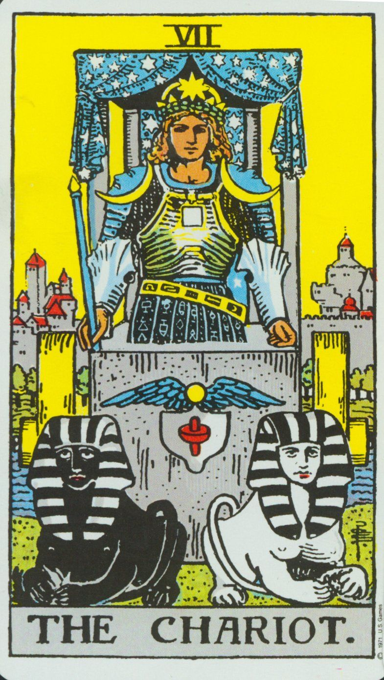 The senior lasso of the Tarot Chariot: meaning. Tarot, Chariot: interpretation in the layouts 9