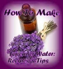 How To Make Lavender Water: Recipes  Tips