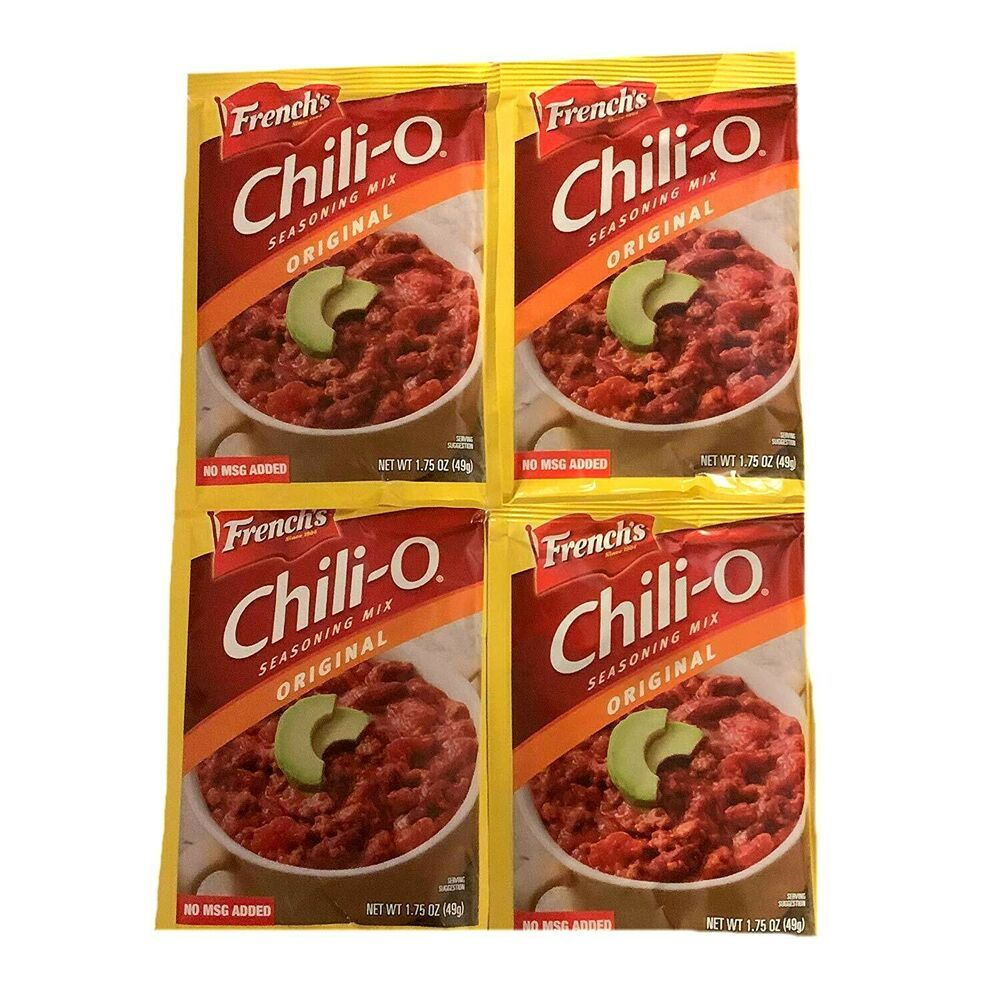 French S Original Chili O Seasoning Mix Pack Of 4 1 75 Oz Season Packets Frenchschilio Easy Frozen Dinner Seasoning Mixes Best Beans