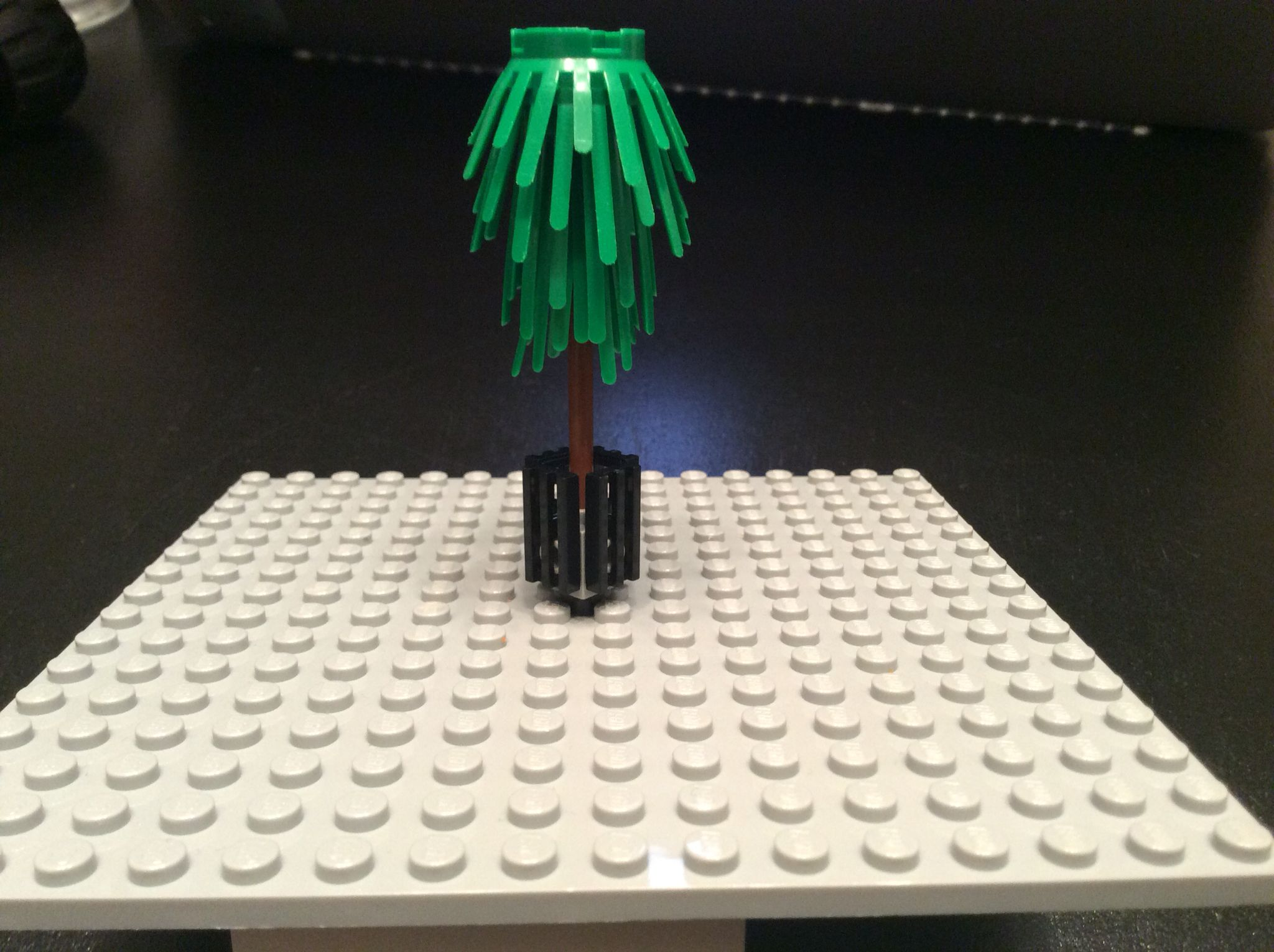 A potted tree technique