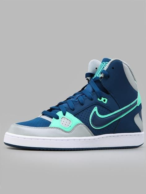 buy online 1b377 bdc4c Nike Son Of Force Mid Brave Blue Brave Blue Silver White