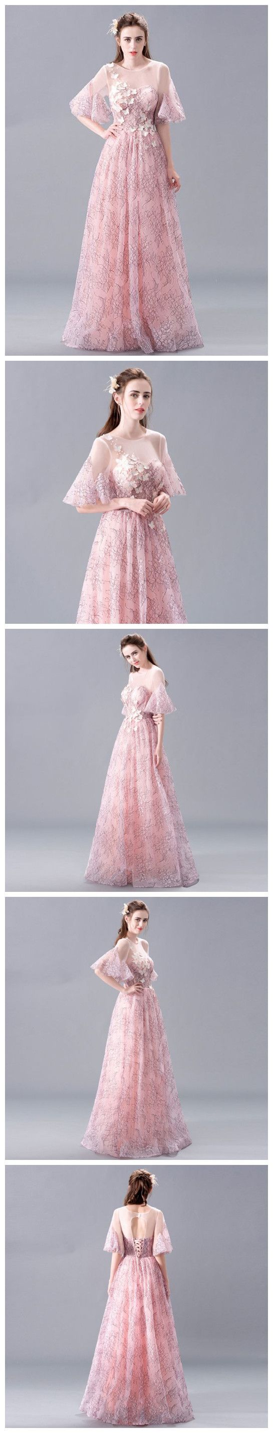 Prom dresses longprincess prom dressesprom dresses pinkcute prom