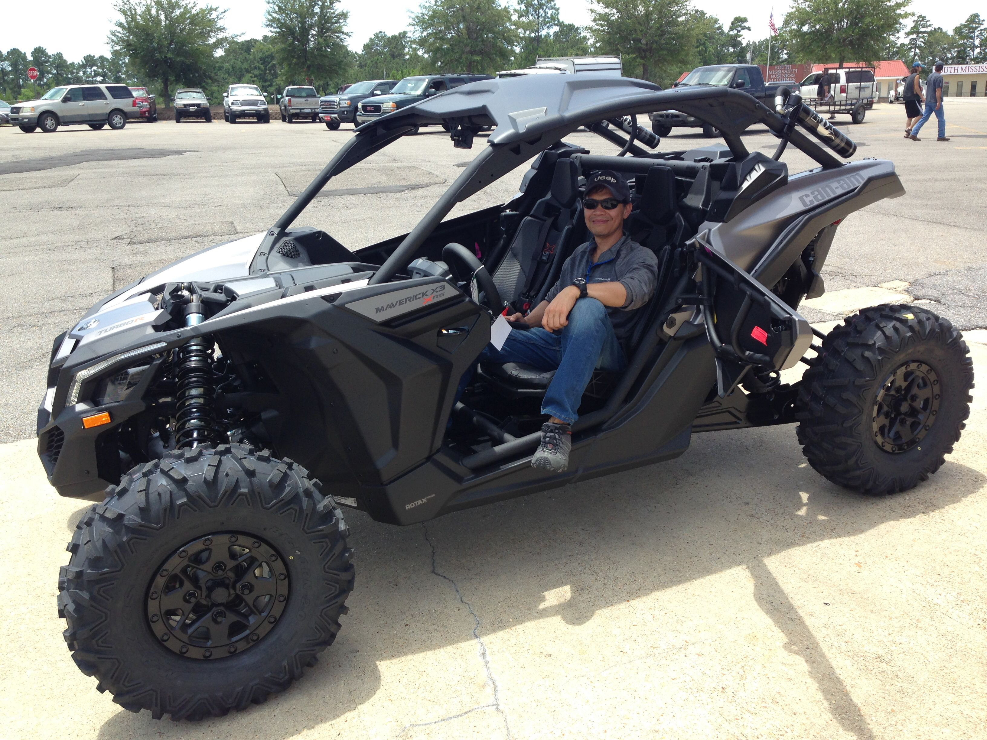 thank you glen alcantara from mobile al for getting your 2018 can am maverick x3 xrs at. Black Bedroom Furniture Sets. Home Design Ideas