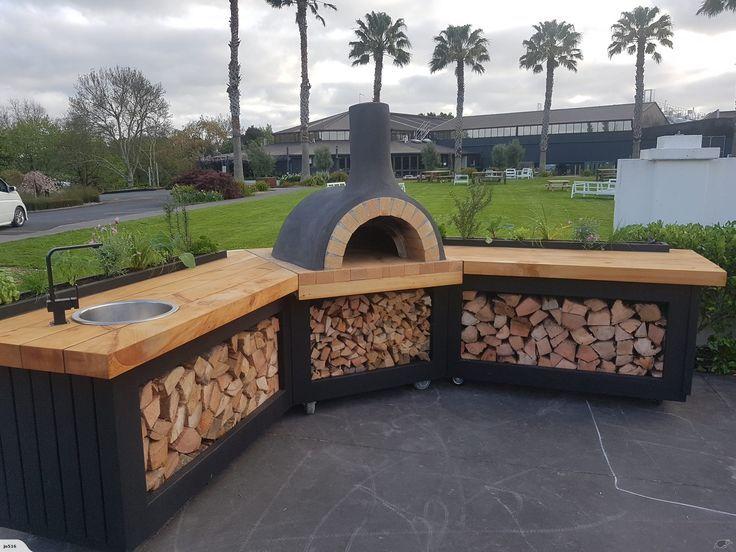 Pizzaofen Outdoor Kuche Pizzaofen Fur Draussen Diy Hinterhof Design Fur Aussenkuche