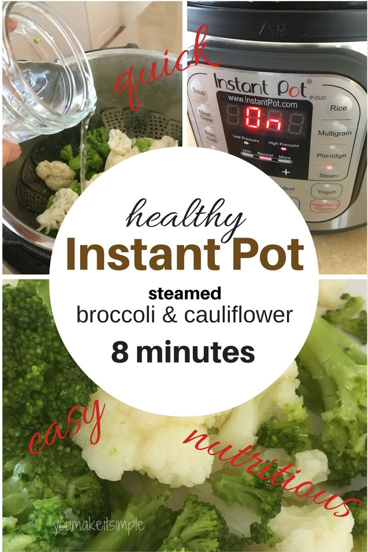 Broccoli How To Steam In The Instant Pot Recipe Instant Pot Instant Pot Recipes Instant Pot Steam