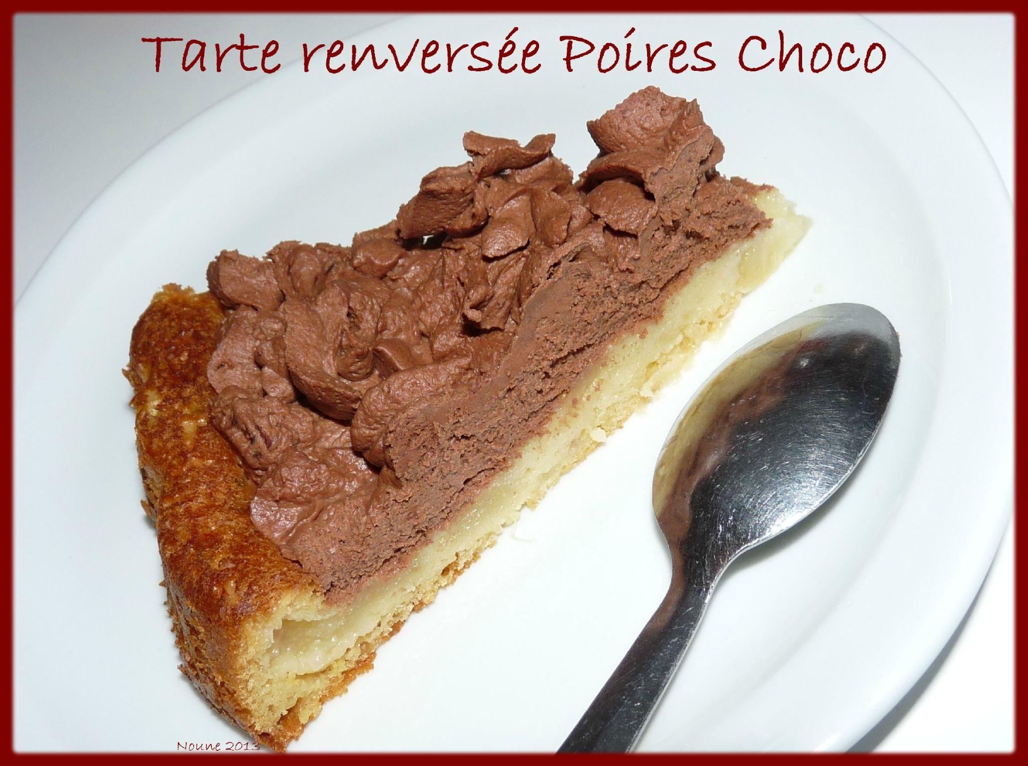 Tarte renversée Poires Choco3
