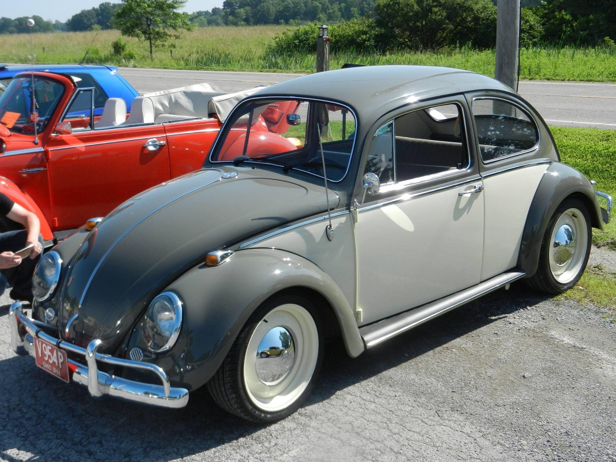 two tone beetle Vdub Pinterest