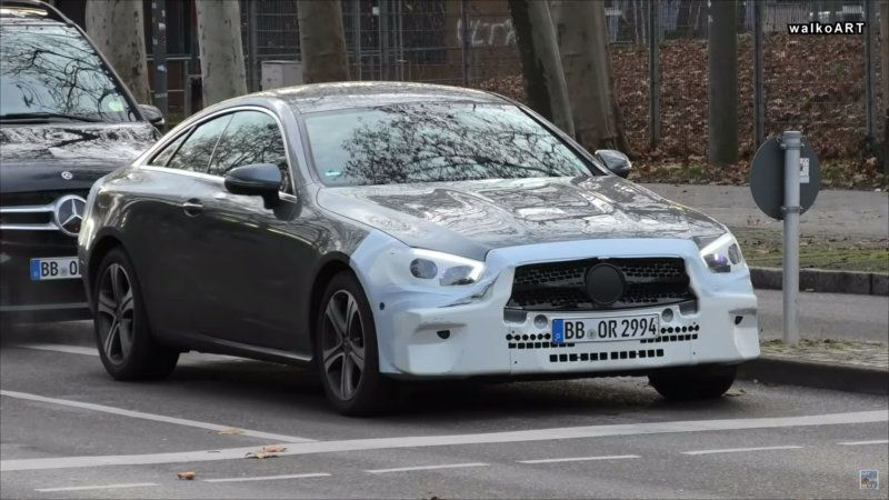 2021 Mercedes Benz E Class Coupe And Amg E63 Spy Video With