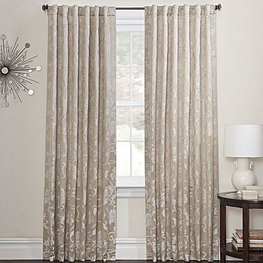 Dressy Neutral Tone Curtains Marquis By Waterford Tara 2 Pack Curtain Panels
