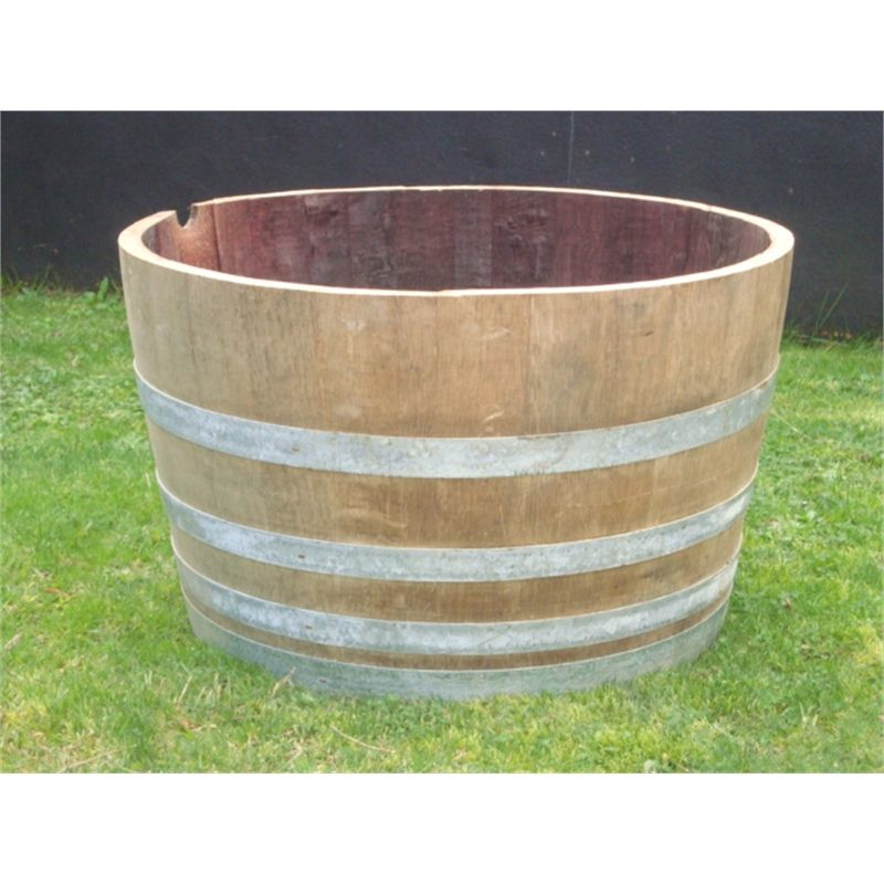 Find Half Wooden Wine Barrel Oak At Bunnings Warehouse. Visit Your Local  Store For The Widest Range Of Garden Products.