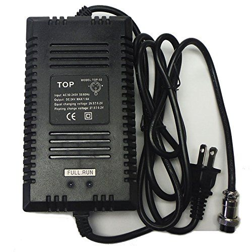 24v 16a Battery Charger 3 Pin Inline Connector Be Sure To Check Out This Awesome Product Battery Charger Motorcycle Dirt Bike Electric Motorcycle