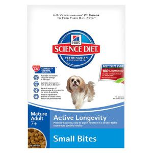 Hill S Science Diet Small Bites Adult 7 Dog Food Chicken Meal