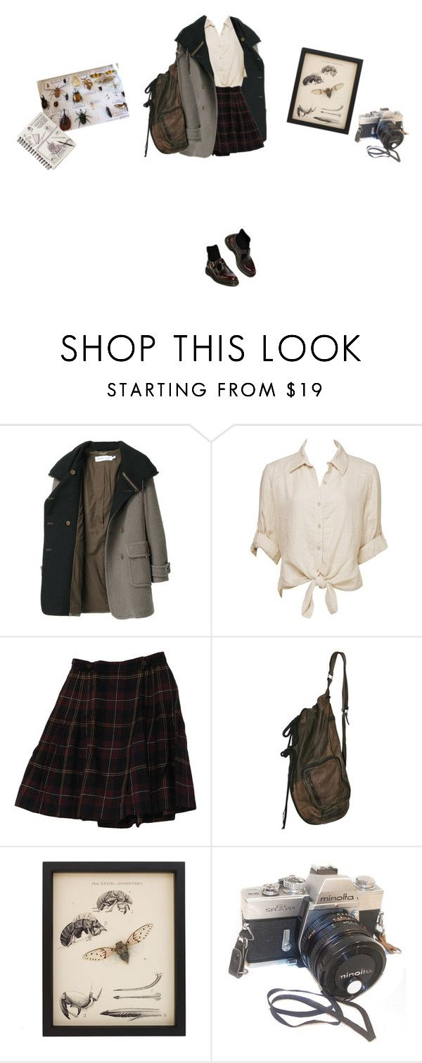 """school excursion to the bug museum"" by ocenia ❤ liked on Polyvore featuring See by Chloé, Charlotte Russe and Rena Rowan"