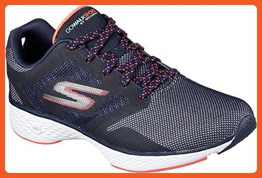Skechers Women's GOwalk Sport Active Walking Sneaker,Navy