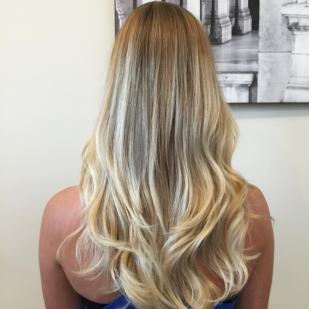 Balayage And Haircut On My Client Katey Hair Balayage Blonde