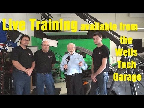 Awesome Wells Ve Tech Garage Live Training Wrenchin Up