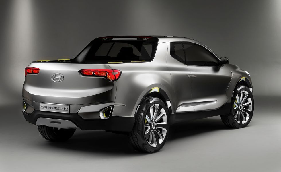Hyundai Santa Cruz Small Pickup Will Start Production In 2021 American Pickup Trucks Pickup Trucks Small Pickups