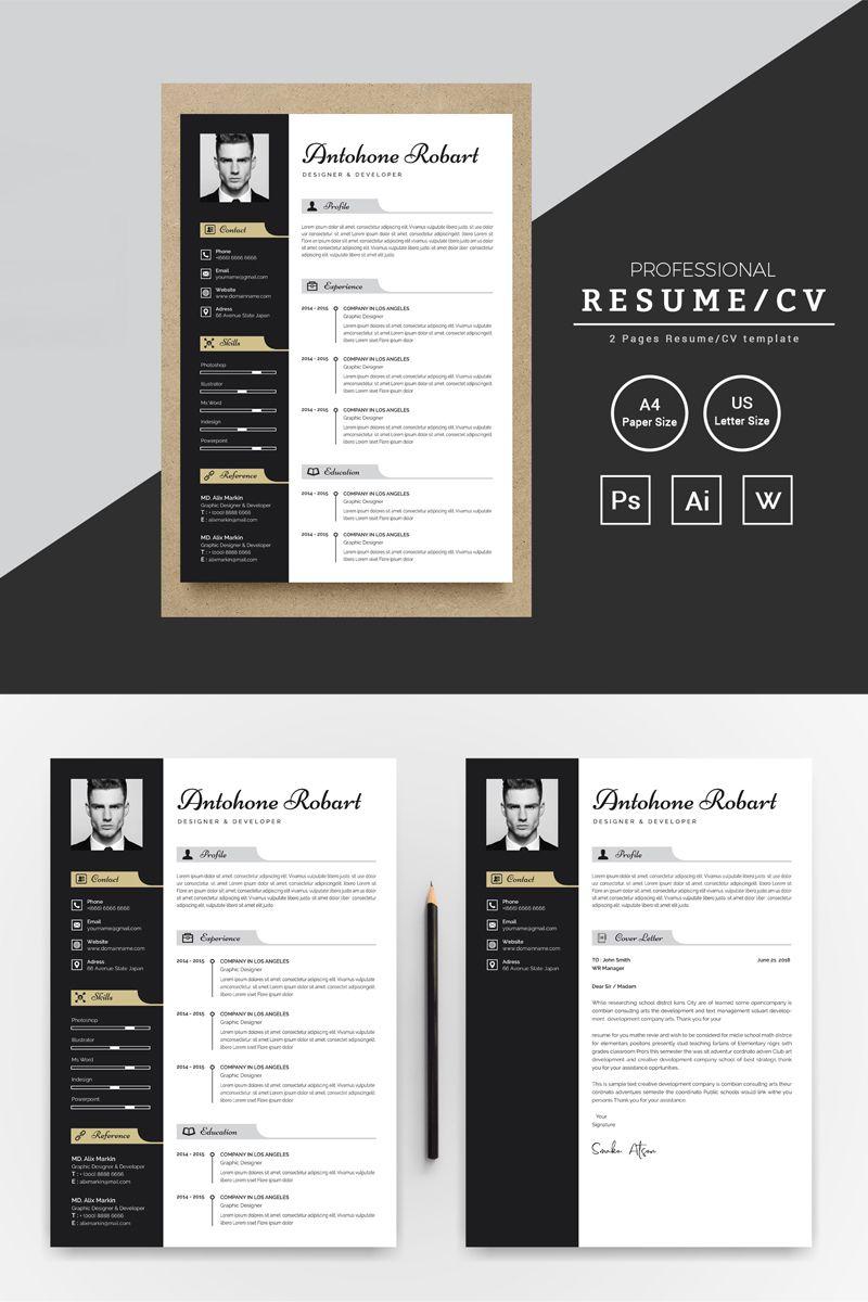 Antohone robert resume template 80978 resume resume