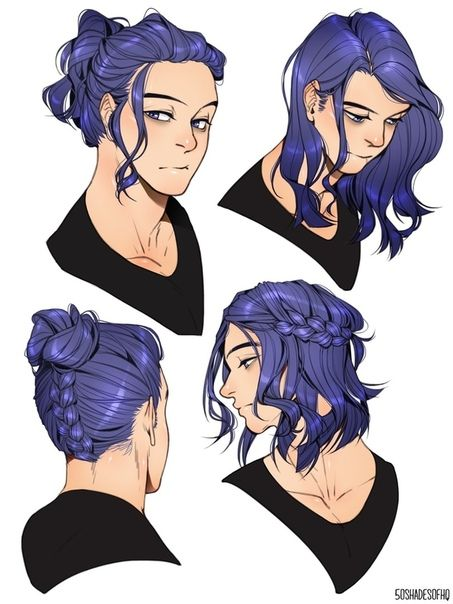 Fotografiya Long Hair Drawing How To Draw Hair My Hero Academia Manga