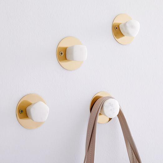 brass wall hook metal wall hooks