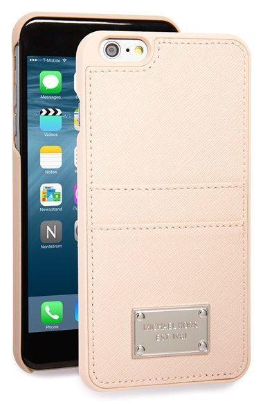wholesale dealer a9251 646a4 MICHAEL Michael Kors Saffiano iPhone 6 Plus & 6s Plus Case available ...