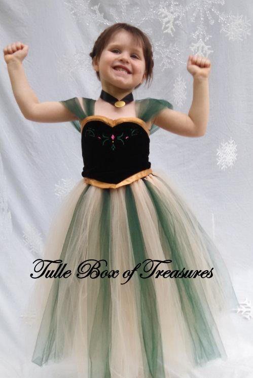 Wintery Green Dress tutu costume Costumes, Fiesta frozen and - green dress halloween costume ideas