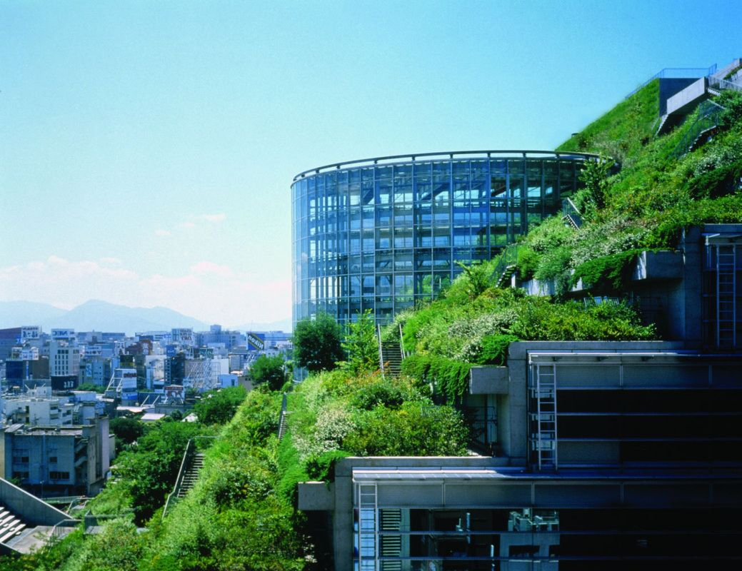 Green architecture the acros fukuoka building of japan for Sustainable design architecture