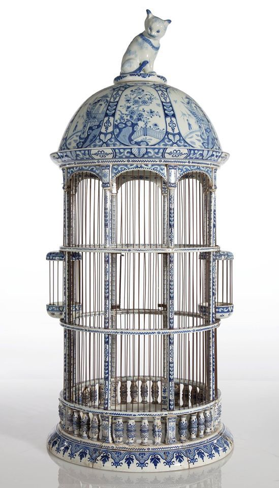 Compilation of 19th century birdcages
