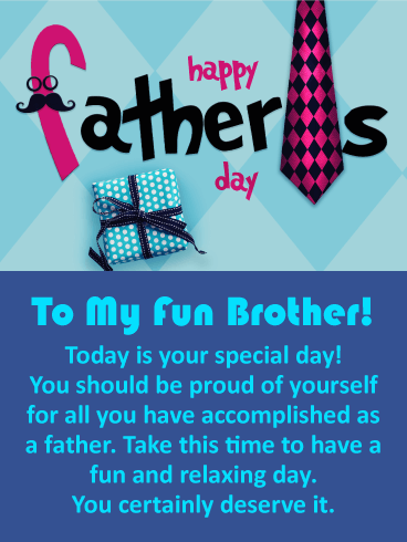 30 Happy Father's Day To My Brother | Wishes Quotes