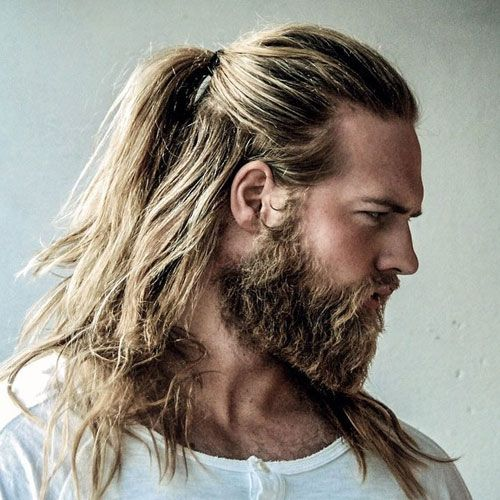 The 10 Best Hairstyles For Men That Will Never Go Out Of Style: The Man Ponytail - Ponytail Styles For Men