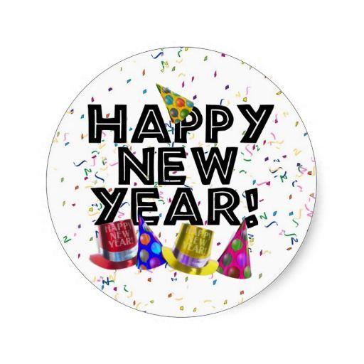 HAPPY NEW YEAR! STICKER by gravityx9 #NewYearsCelebration