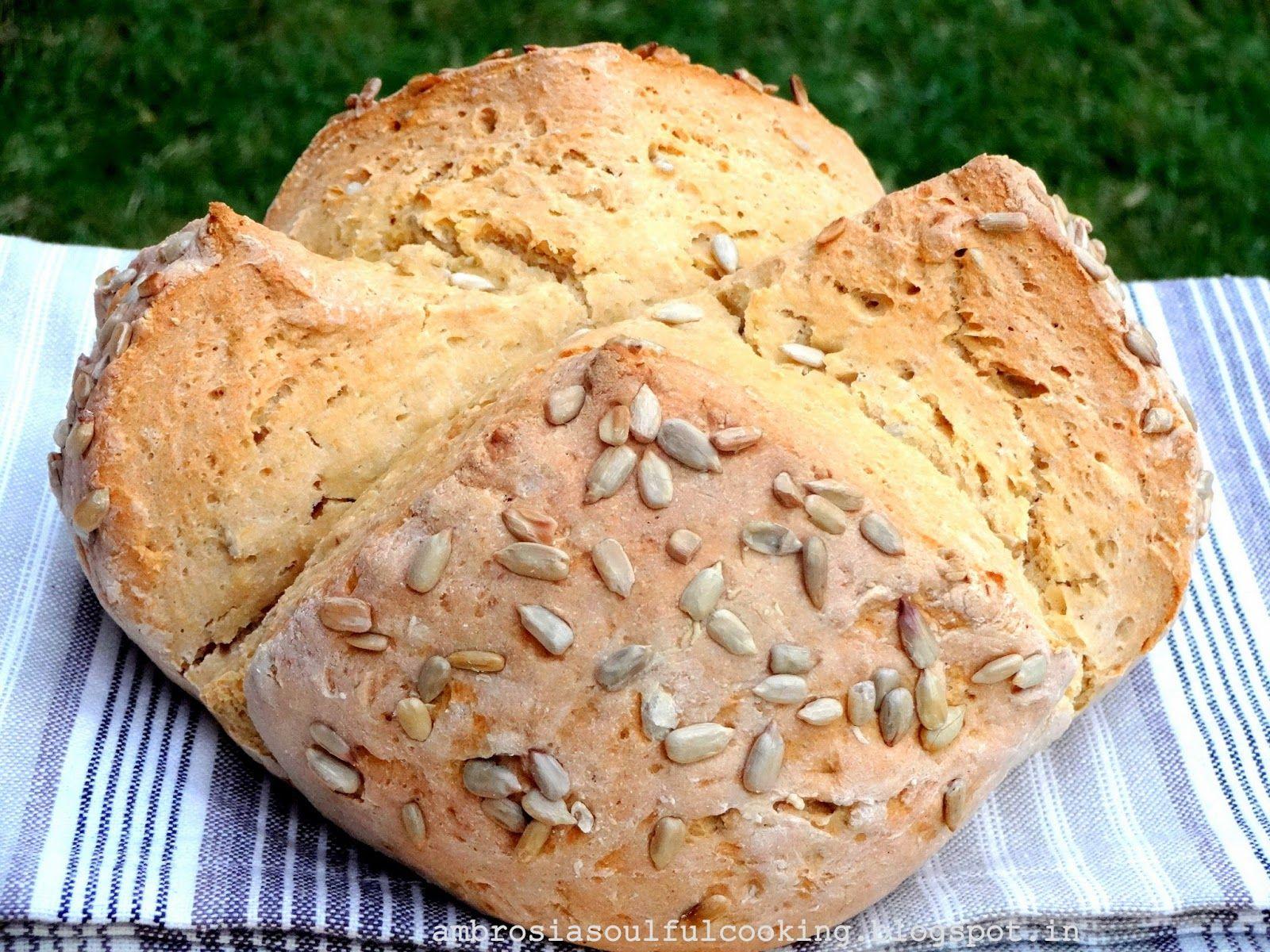 AMBROSIA: Whole Wheat Sunflower Seed Soda Bread