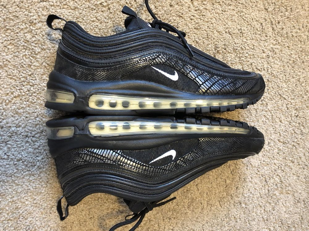 f3636dee85 Nike Air Max 97 Size 11 Spider Web Black RARE #fashion #clothing #shoes # accessories #mensshoes #athleticshoes (ebay link)