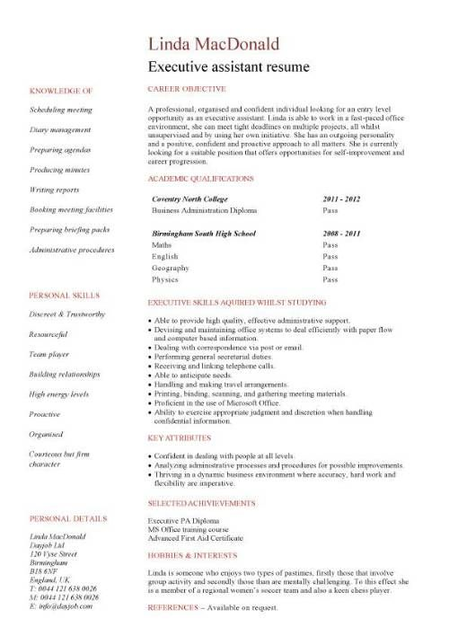 No Experience Resume Template What Is Ideal Non Lethal Self Defense Gadget To Carry Click Here