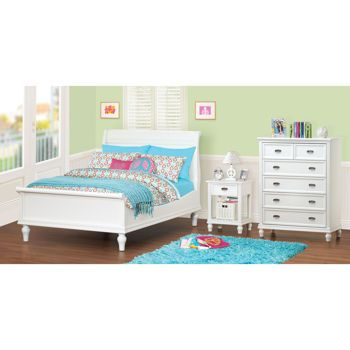 Cafekid Alexia 3 Piece Full Bedroom Set Furniture Bed Bedroom Set