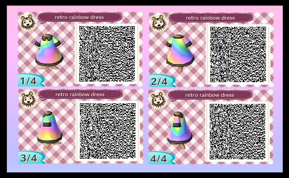 Pastel Rainbow Animal Crossing Qr Codes Animal Crossing Animal Crossing Qr