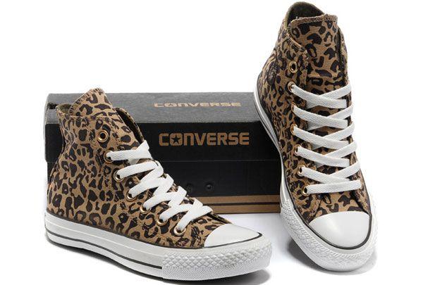 1e2834103383f ... cheapest 2013 angelina jolie newest converse leopard print yellow all  star chucks avril rocking roll high